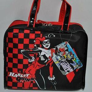 ♤ Harley Quinn SOHO Makeup Bag NEW